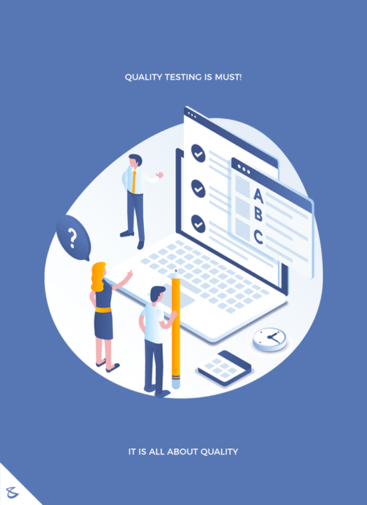 IT is all about quality!  #CompuBrain #Business #Technology #Innovations #QualityTesting #QC #WebsiteDesign