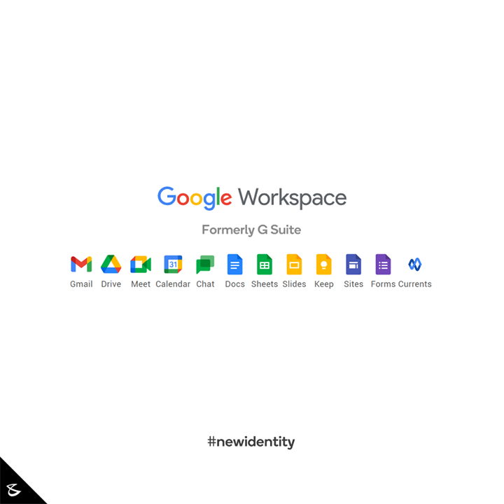 :: Google Workspace :: Formerly G Suite  #Gsuite #Google #GoogleWorkspace #CompuBrain #Business #Technology #Innovations #newidentity