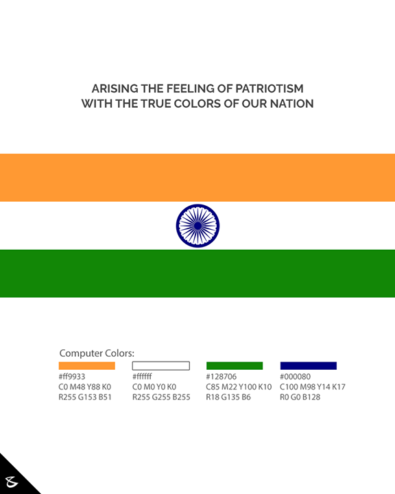 Attention Graphic Designers and Social Media Managers! Republic Day is around the corner and we have a quick fix for your clients' Republic Day Creative on the list. Here are the exact colours that you should follow for the Indian National Flag. Let's make it uniform across the Internet and preserve the pride of our Nation.  #IndianNationalFlag #India #RepublicDay #26thJanuary #IndianRepublicDay #RepublicDay2021 #IndianFlagManual #CompuBrain #Business #Technology #Innovations #socialsamosa