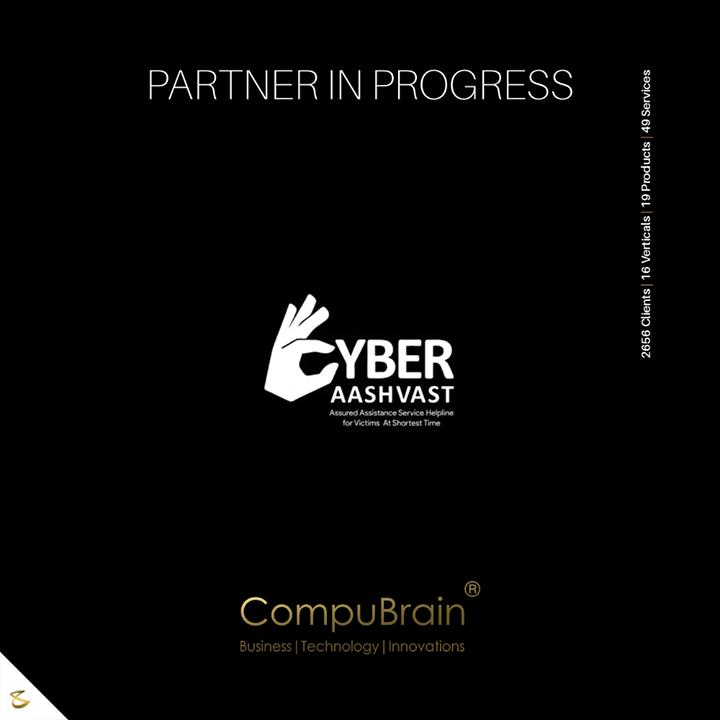 A Cyber-Pro Partnership!   #Institutionalization #CompuBrain #Business #Technology #Innovations