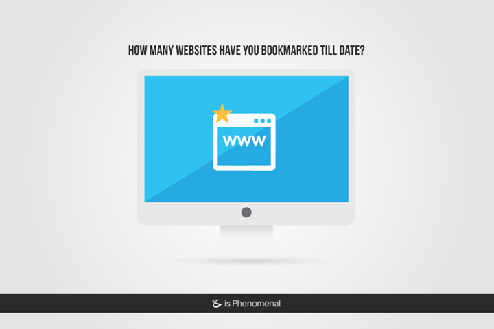 How many websites have you bookmarked till date?  #Business #Technology #Innovations
