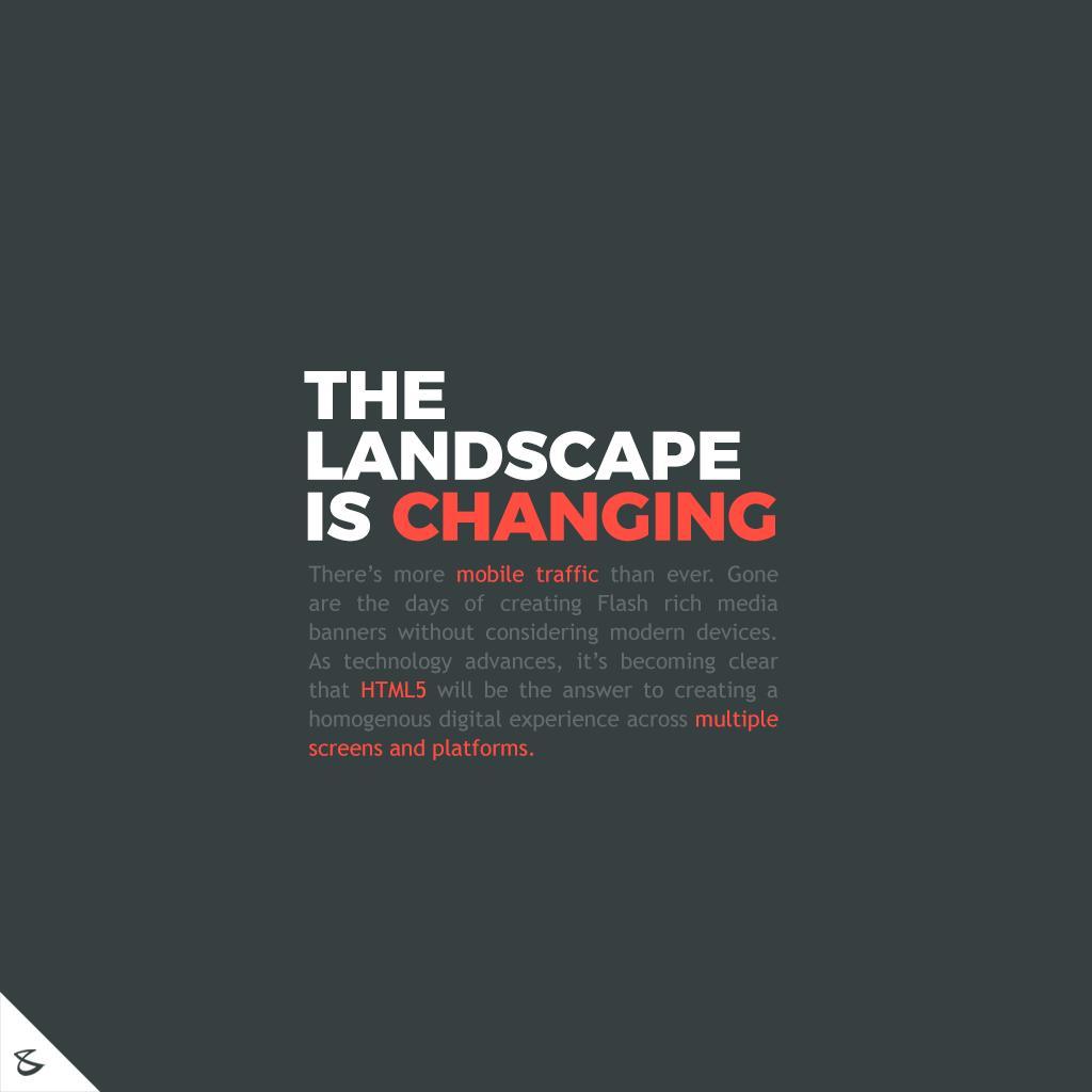 The landscape is changing  #CompuBrain #Business #Technology #Innovations #DigitalMediaAgency #WebsiteDesiging #Gujarat https://t.co/clb2aRh1nb